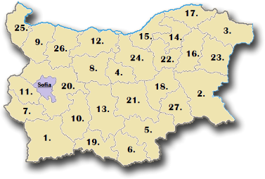 BulgarianProvinces